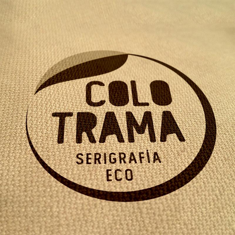 Logo para Serigrafía Eco