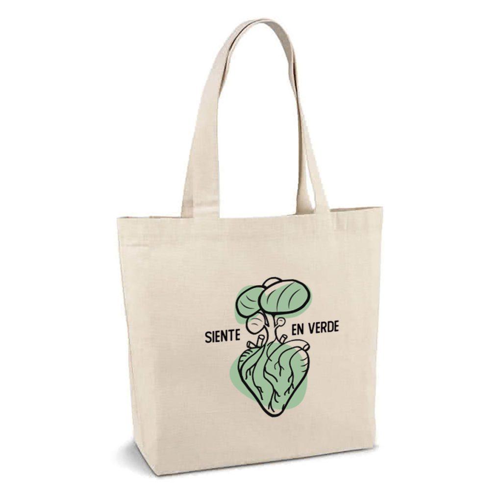 Ilustración eco para bolsas