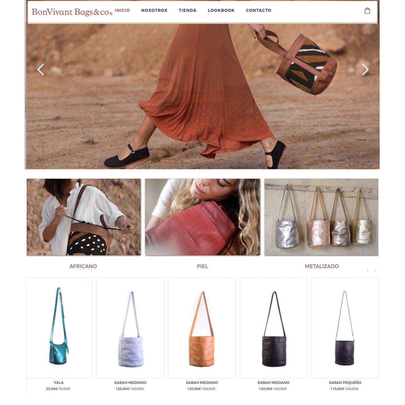 Web de bolsos artesanales