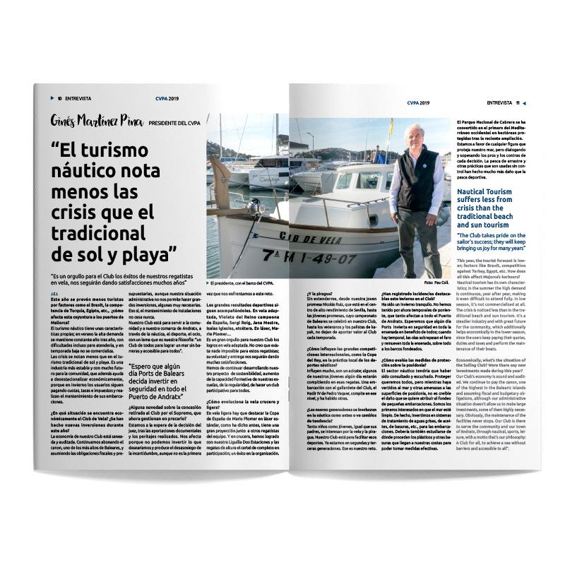 Revista Club de Vela de Andratx