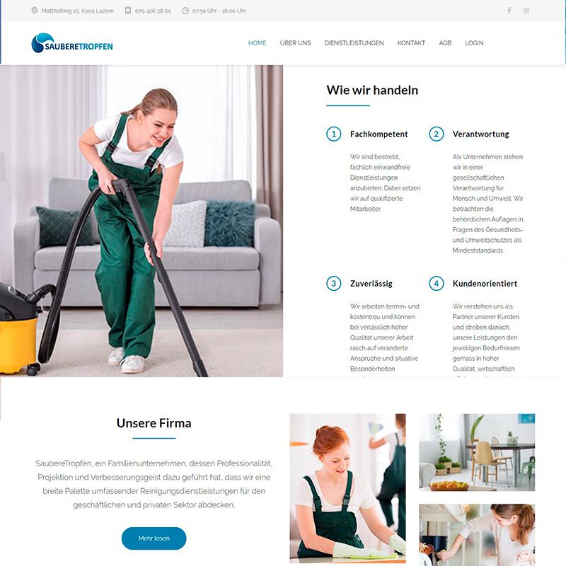 Web de Servicios de Limpieza