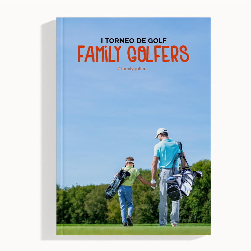 Folleto para Torneo de Golf